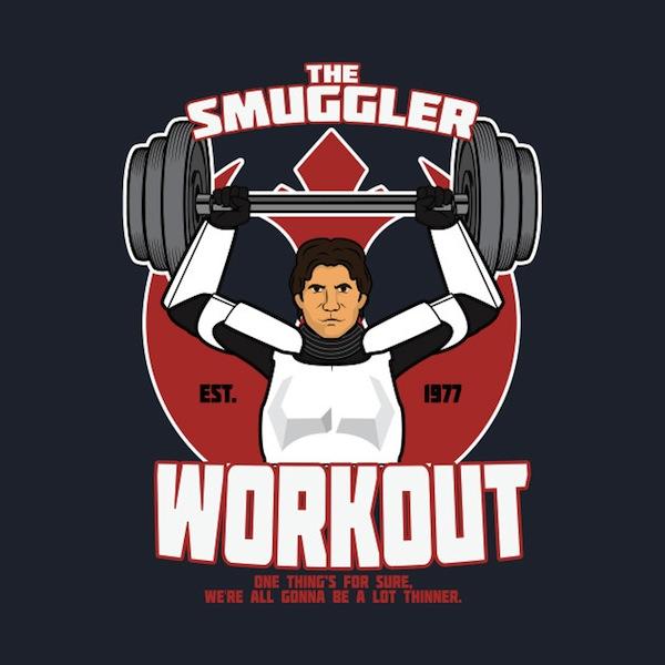The Smuggler Workout TShirt