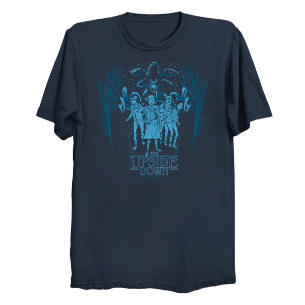 The Upside Down T-Shirt - Stranger Things T-Shirts