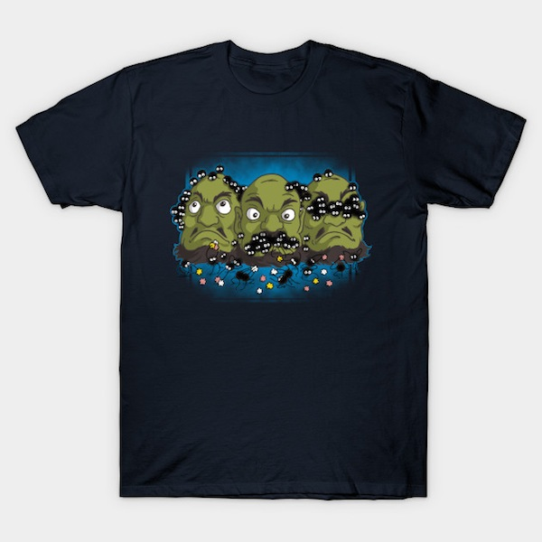Three Heads - Spirited Away T-Shirt