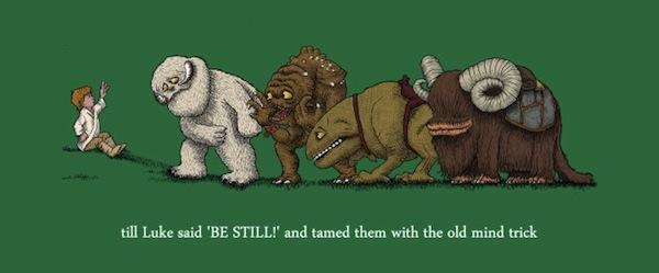 Til Luke Said – Funny Star Wars Shirt