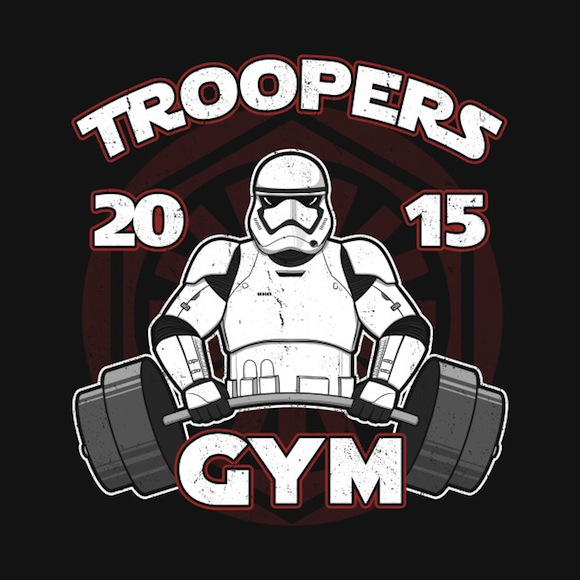 Troopers Gym Star Wars Activewear