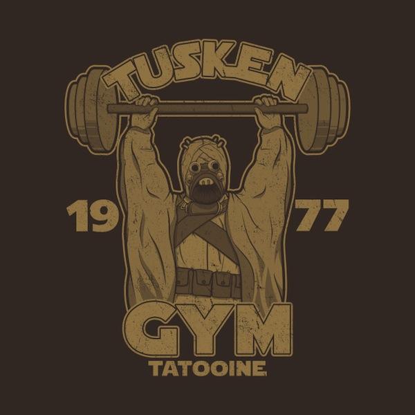 Tusken Gym Star Wars Apparel