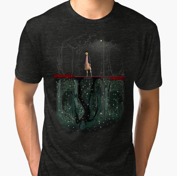Upside down - Stranger Things T-Shirts