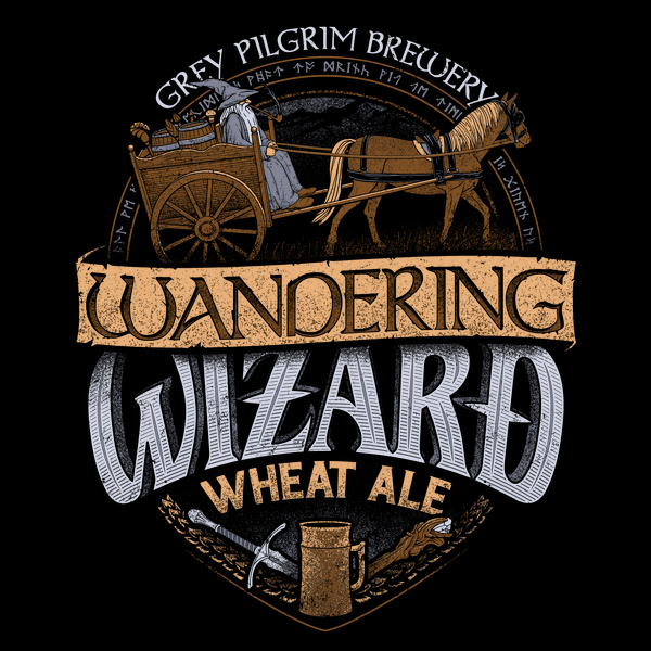 Wandering Wizard Wheat Ale Tee