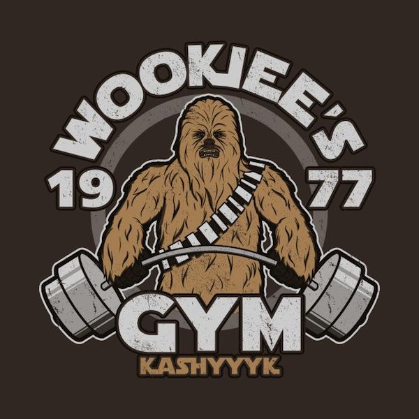 Wookiees Gym Star Wars Activewear
