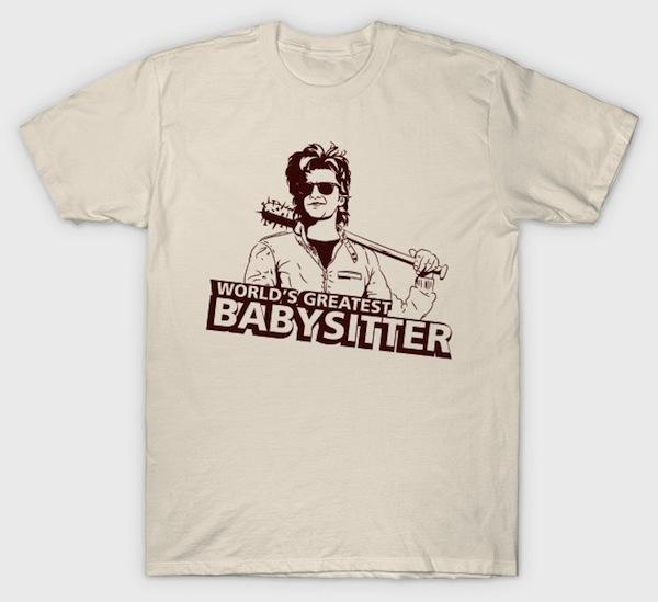 Worlds Greatest Babysitter - Stranger Things T-Shirts