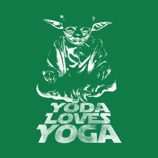 Yoda Loves Yoga - Star Wars Activewear