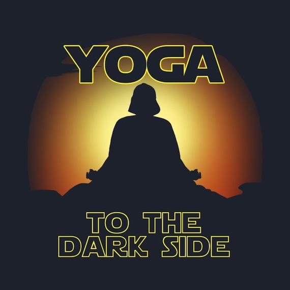 Yoga to the Dark Side – Star Wars Apparel