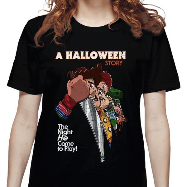 A Halloween Story Mashup T-Shirts