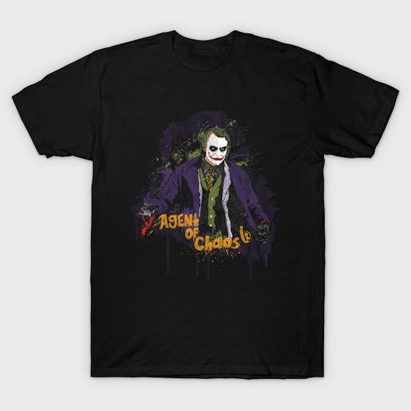 Agent Of Chaos - Joker T-Shirt