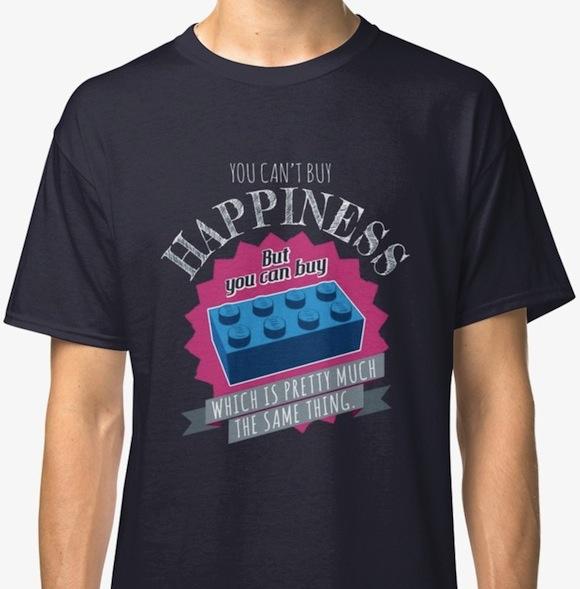 Brick Happiness Lego T-Shirts