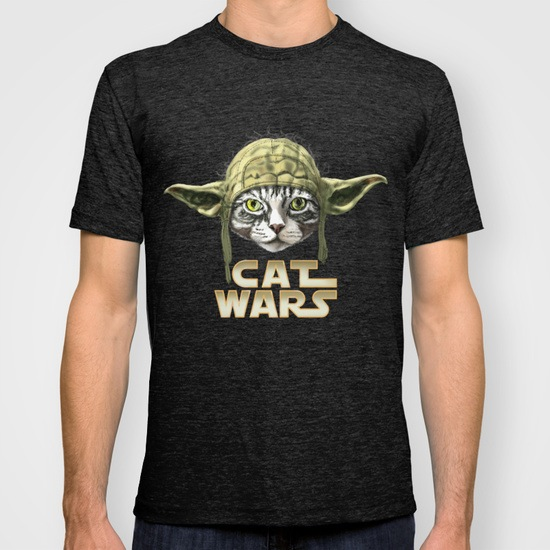 Cat Wars T-Shirts and Tanks