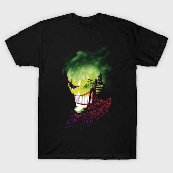 City of Smiles - Joker T-Shirt