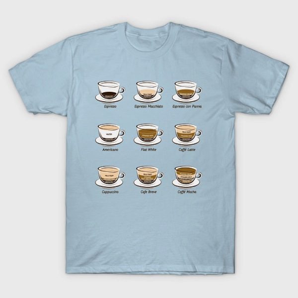 Coffee chart T-Shirt