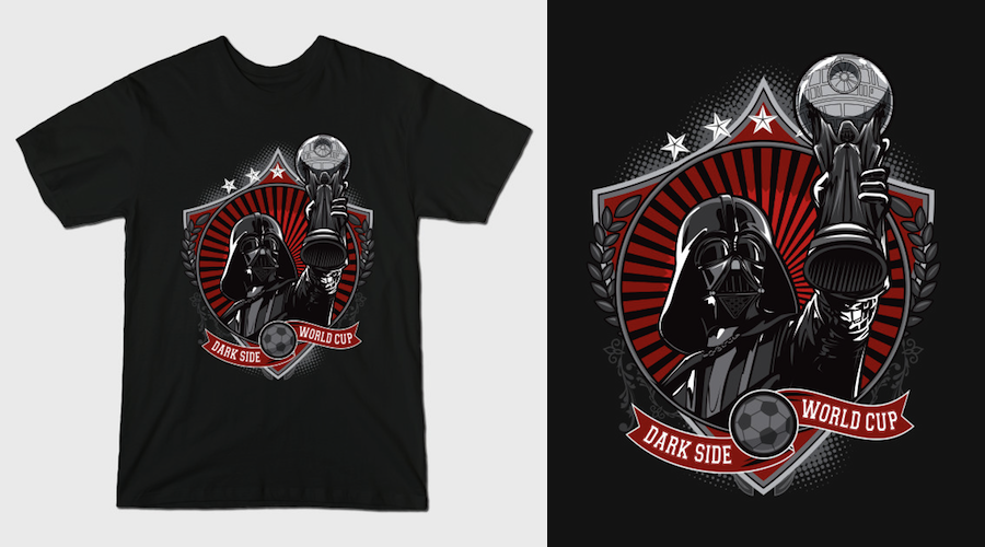 DARK SIDE WORLD CUP T-Shirt