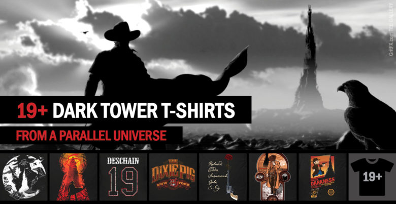 Dark Tower T-Shirts Collection - Black T-Shirts
