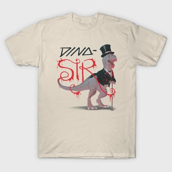 Dino-SIR - Dinosaur T-Shirts