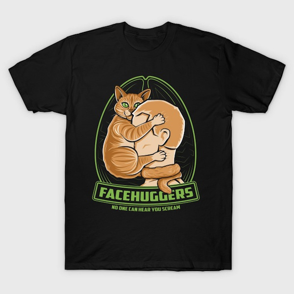 Facehuggers - Cat T-Shirts and Tanks