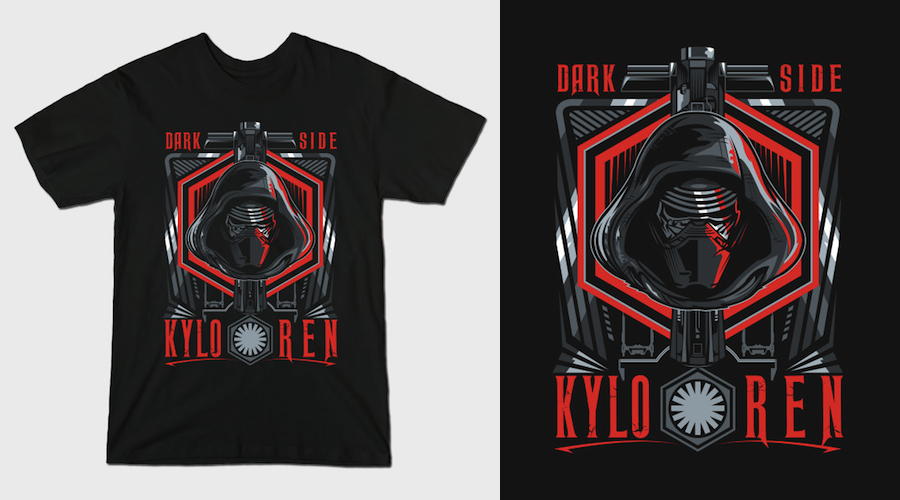 Finish what you started – Kylo Ren T-Shirts