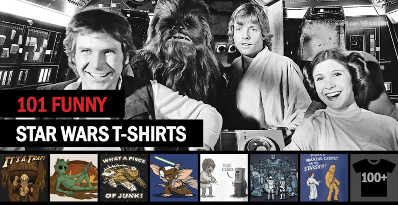 Funny Star Wars T-Shirts Feature