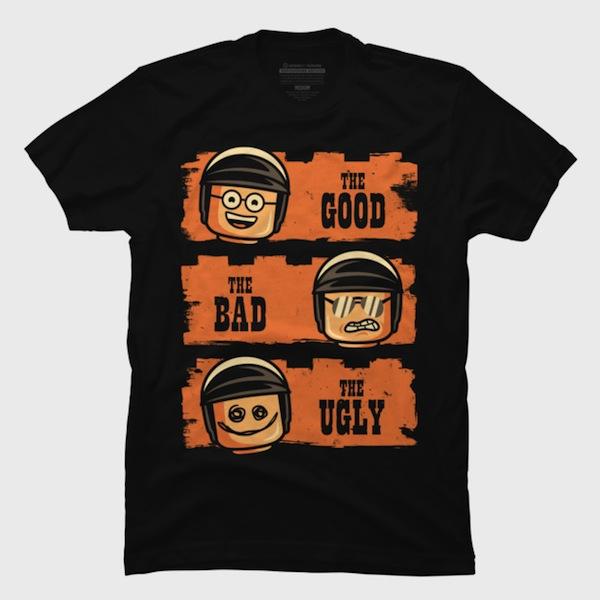 Good Cop Bad Cop Ugly Cop Tee