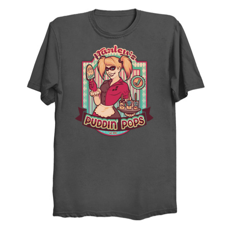 Harley's Puddin' Pops T-Shirts