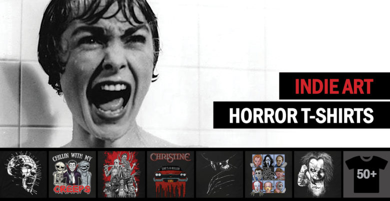 Horror T-Shirts - Indie Collection