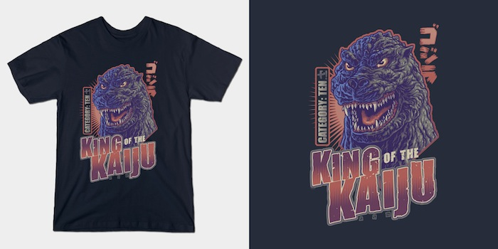 King of the Kaiju T-Shirts