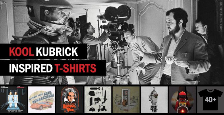 Kubrick T-Shirts Feature Banner