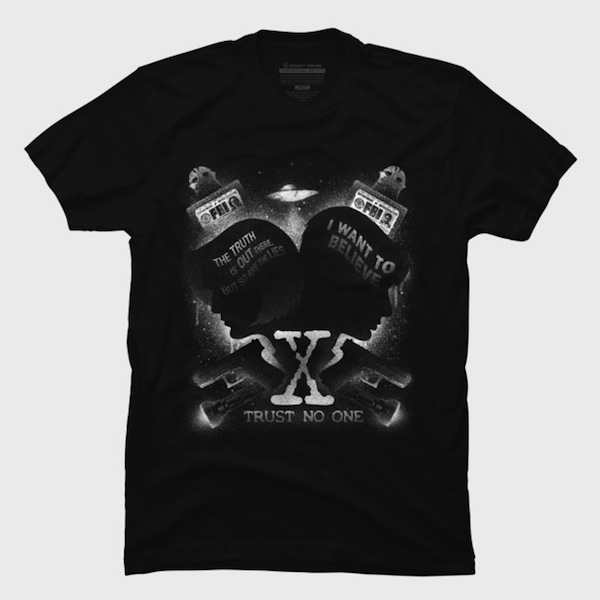 Legacy of Believing X-Files T-Shirts