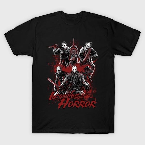 Legends of Horror T-Shirt