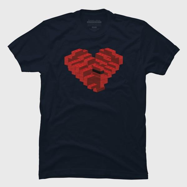 Leggo my heart apparel