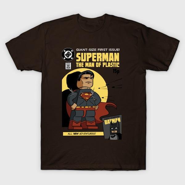 Lego Superman - Pop Culture Lego T-Shirt