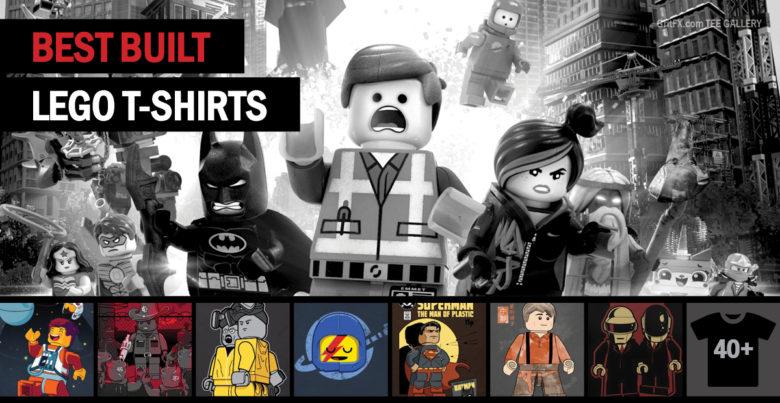 Pop Culture Lego T-Shirts