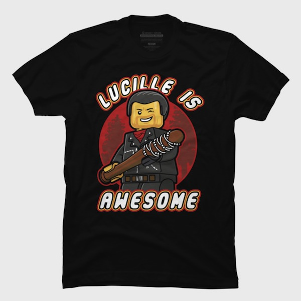 Lucille is Awesome  - Pop Culture Lego T-Shirt