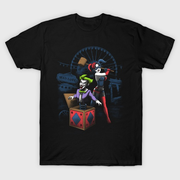 MAD LOVE - Harley Quinn and Joker T-Shirts