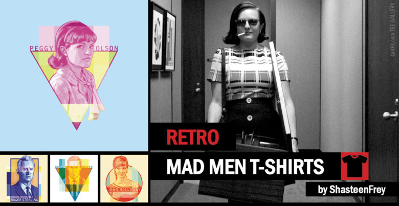 Mad Men T-Shirts Collection