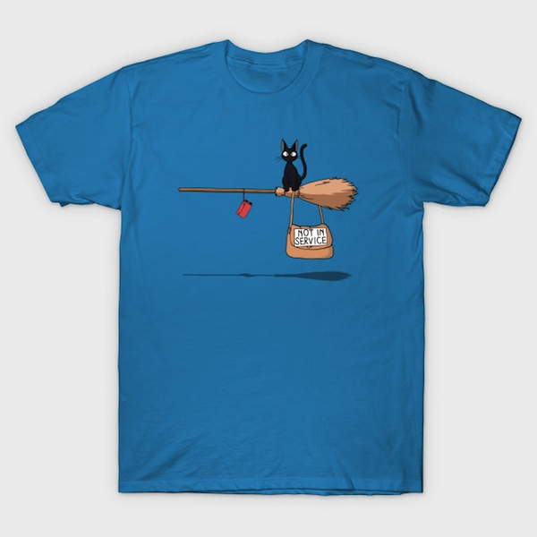Not in Service - Funny Cat Tees