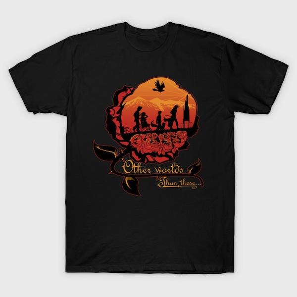 Other worlds - Black Dark Tower T-Shirts