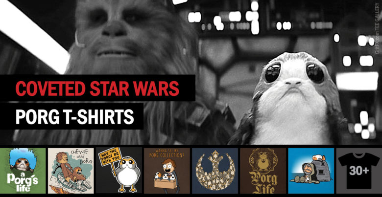 Star Wars Porg T-Shirts Collection
