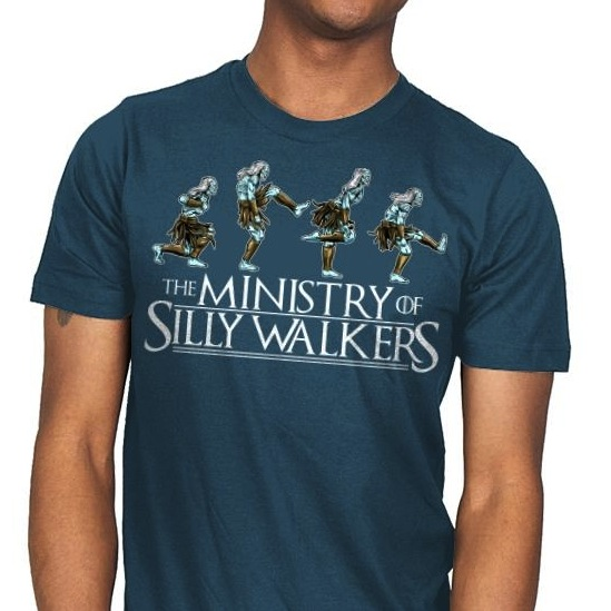 Silly Walkers - Game of Thrones Parody T-Shirt