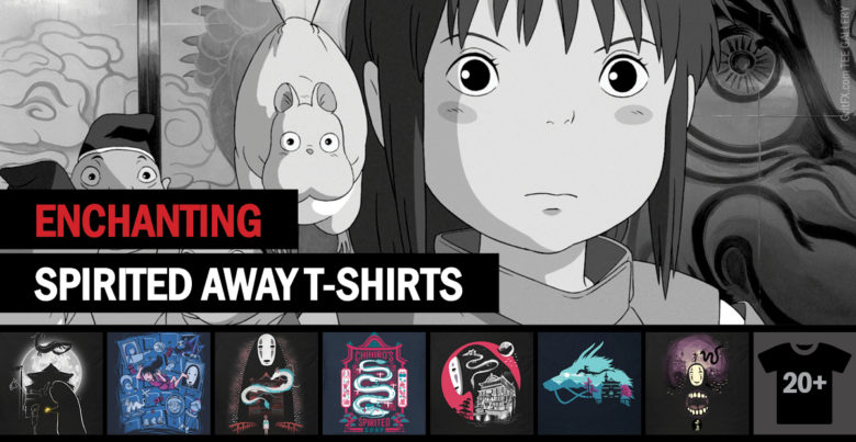 Spirited Aways T-Shirts Collection