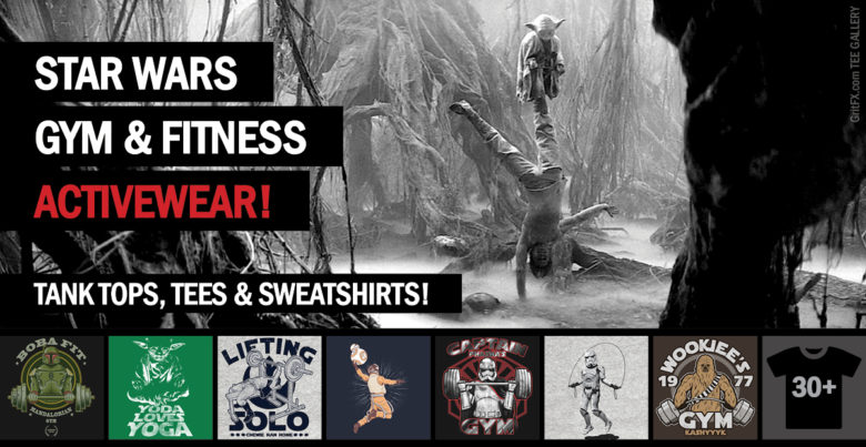 Star Wars Gym & Fitness Activewear