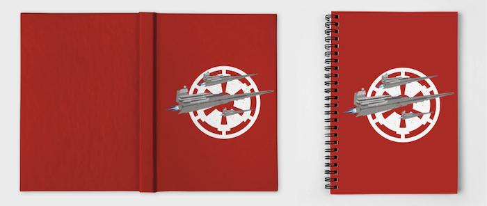 Star Wars Minimalist Notebooks