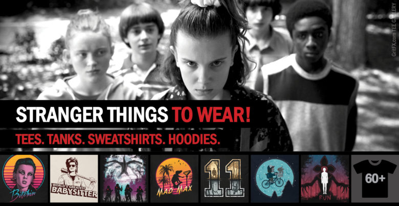 Stranger Things T-Shirts Banner