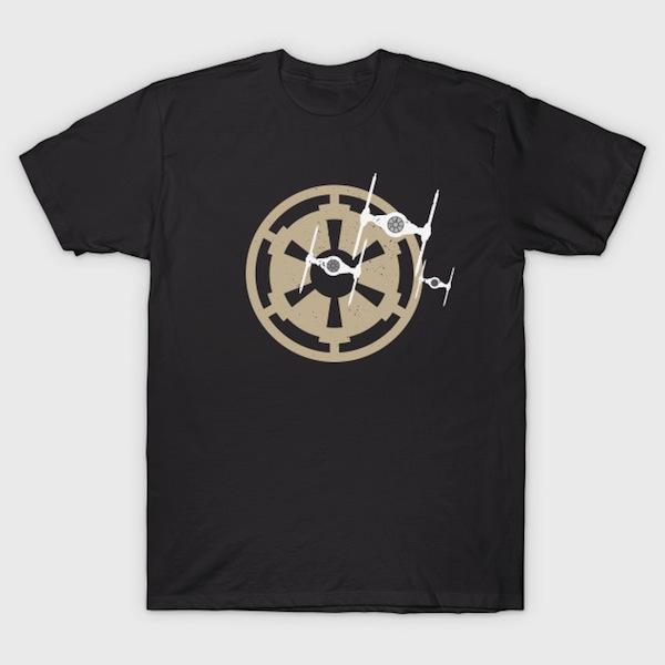 T Fighter - Minimalist Star Wars T-Shirt