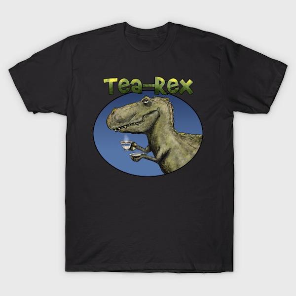 Tea Rex - Dinosaur T-Shirts