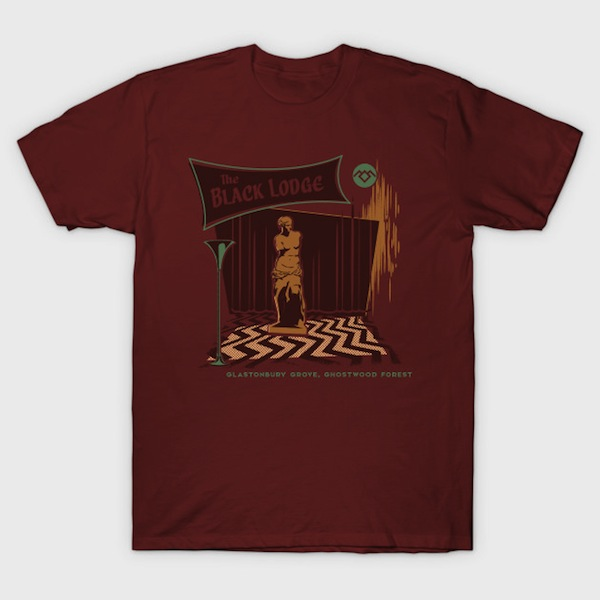 The Black Lodge - Twin Peaks T-Shirt