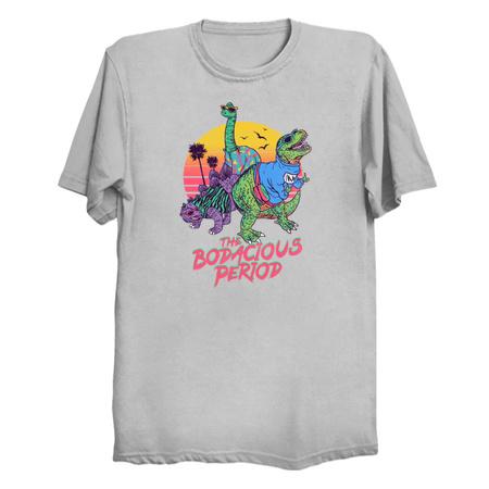 The Bodacious Period - Dinosaur T-Shirts