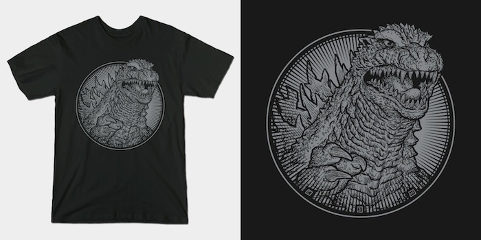The King - Godzilla T-Shirt
